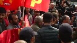 Разгон первомайской демонстрации в Стамбуле