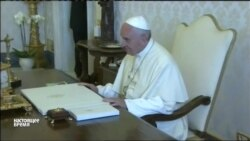Путин опоздал в Ватикан