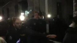 Нападение на оппозиционера Давида Бердзенишвили