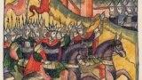 Кримське військо під Москвою. З російських літописів. 1521 рік. Нашестя кримського хана Мехмеда Гірея