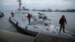 Repairing Ukraine's Gutted Gunboats
