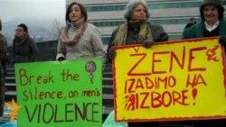Protest žena u Sarajevu