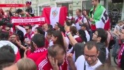 Как фанаты в Москве встречают Чемпионат