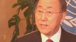 Пан Ги Мун дал интервью Радио Азаттык