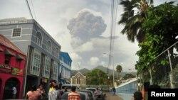 Erupcija vulkana La Sufrijer