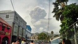 A vulkán óriási hamufelhője beborítja a karibi térséget