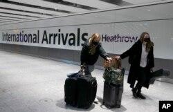 Лондонский аэропорт Хитроу. Январь 2021 года