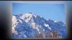 Зима в горах Кыргызстана