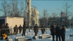 Акция в память о Егоре Свиридове в Петербурге