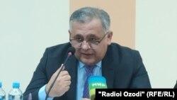 Глава государственной страховой компании «Таджиксугурта» Шухрат Максудзода.