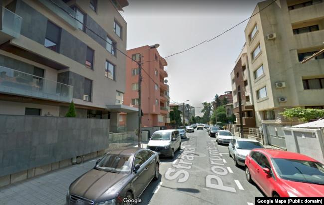 Strada Emanoil Porumbacu, stradă cu imobile cu etaje, dar fără parcării