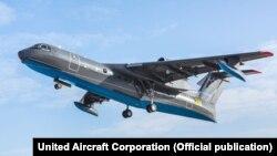 Літак Бе-200, що розбився в Туреччині, під час першого польоту у 2020 році (фото архівне)