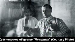 Сергей Седов и Генриетта Рубинштейн. Москва. 1934 год