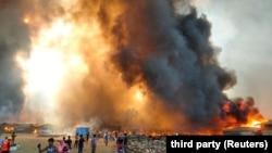 Пожар во Бангладеш. Архивска фотографија.