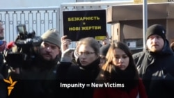Ukraine Protestors Demand Justice For Maidan Victims