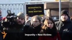 Ukraine Protestors Demand Justice For Maidan Victims