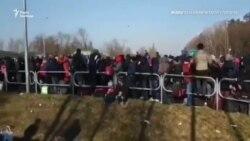 Тисячі українців намагаються перетнути українсько-польський кордон – відео