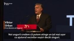 """Viktor Orban cere României de la Timișoara să construiască împreună """"o nouă Europă Centrală"""""""