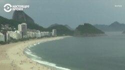 Пластиковый апокалипсис на бразильском пляже