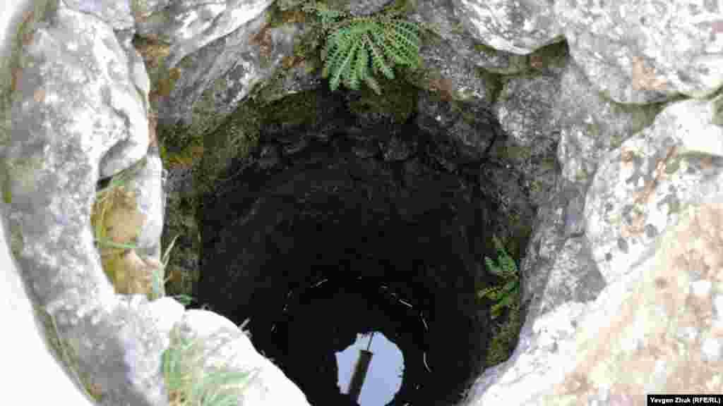 У старому колодязі вода є