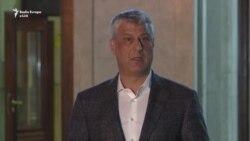 Thaçi propozon gjendje të jashtëzakonshme në Kosovë