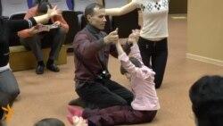 Швеция биючеләре Казанда инвалидлар өчен мастер-класс күрсәтте