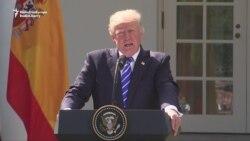 Trump Says U.S. Prepared For Military Option Against North Korea