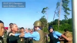 Chinese Workers Clash With Belarusian Police