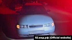 Задержанный по подозрению в ДТП автомобиль ВАЗ
