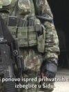 RSE sa migrantima u Šidu: Vojska ispred kampova
