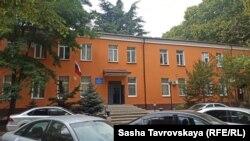 Здание Киевского райотдела полиции Симферополя, 1 октября 2021 года