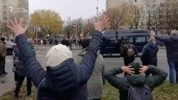 მინსკში პოლიცია სასტიკად გაუსწორდა დემონსტრანტებს