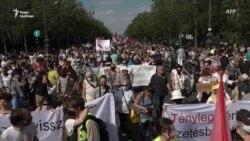 У Будапешті протестували проти будівництва китайського кампусу (відео)