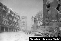 When the war ended in 1945, Koenigsberg was devastated, its historical center razed by British bombing raids and much of the rest destroyed during fighting between the Soviet Red Army and retreating German forces.