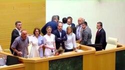 Российский депутат-коммунист спровоцировал скандал в Грузии