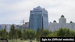 """Бизнес-центр """"Болашак"""", где находится """"КазТрансГаз"""""""