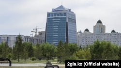 The Bolashak business center in the city of Nur-Sultan, where KazTransGas is located.