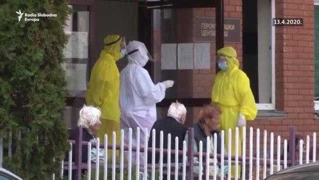 Evakuacija štićenika niškog Gerontološkog centra