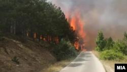 Пожарите во Македонија локализирани, но сè уште постои опасност