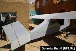 داوود حسینی آرزو دارد که نخستین شرکت طیارهسازی را در افغانستان ایجاد کند
