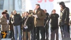 Митинг на Новом Арбате: Григорий Мелконьянц