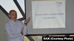 Рэдактар і выдавец Intex-Press Уладзімер Янукевіч