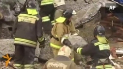 Russian Soldiers Killed In Building Collapse