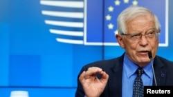 Верховный комиссар ЕС по иностранным делам и политике безопасности Жозеп Боррель (архив)