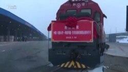Çindən Bakıya 36 vaqonluq yük qatarı yola düşüb