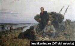 Григорій Гончаров. «Кольцов у донських степах», 1953 рік