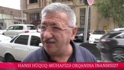 Hansı hüquq-mühafizə orqanına daha çox inanırsız?