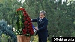 Шавкат Мирзиёев на церемонии памяти жертв репрессий