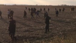 Refugees Clash With Police Along Serbian-Croatian Border