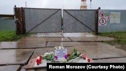 Народный мемориал во дворе дома по Ярославской, 34, в Вологде